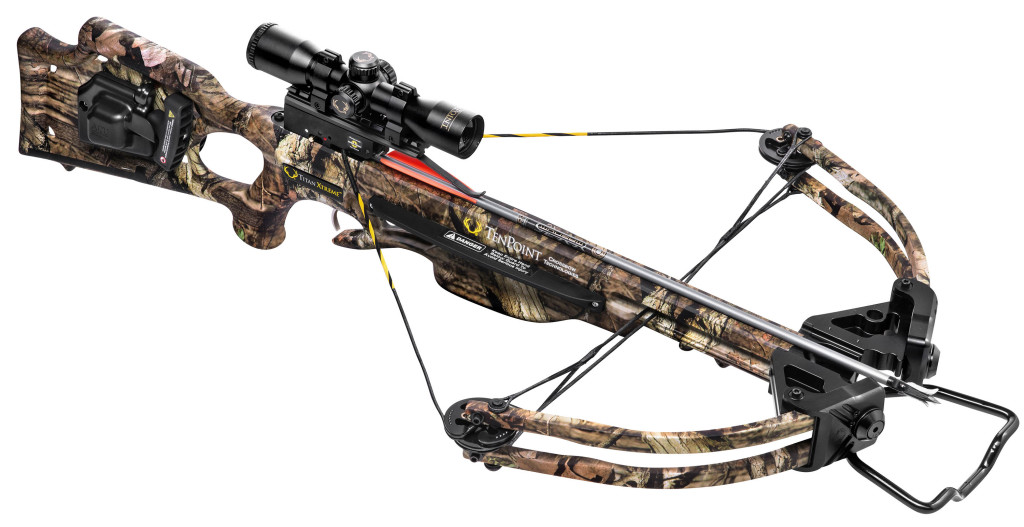 The Tenpoint Titan Xtreme makes getting into crossbow hunting easy and budget-friendly. With an MSRP beginning at $619, the Titan Xtreme comes with everything you need to get into the crossbow game.