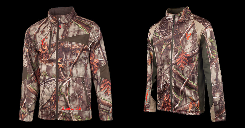 e8d7d4f038fc8 For early through mid-season hunts, Huntworth has two mid-weight jackets we  really like. Bowhunters will appreciate the Tactical Performance Fleece  Hunting ...