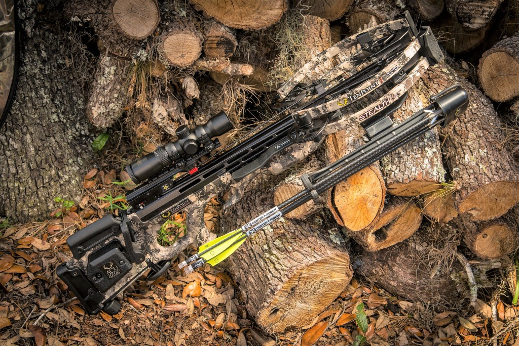 """Measuring just 6"""" from axle-to-axle, the Stealth NXT is TenPoint's narrowest, most accurate crossbow ever."""